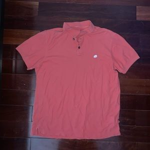 Banana Republic Men's Orange Collar Shirt